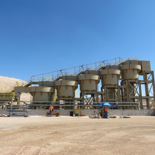 July - New carbon-in-leach plant