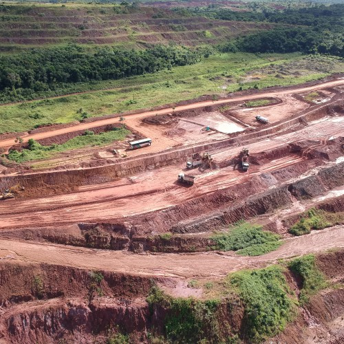 June - Mining waste in Piaba Pit